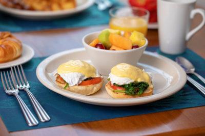 Breakfast at Normandie Restaurant