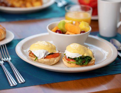 Relishing Sanibel Island's best breakfast at the Normandie Restaurant