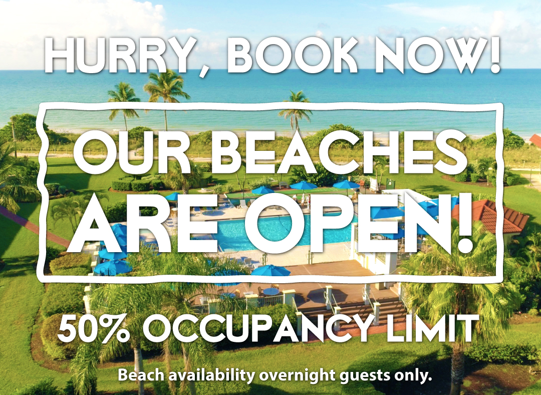 Our beaches are open. West Wind Inn welcomes you Saturday, May 16.